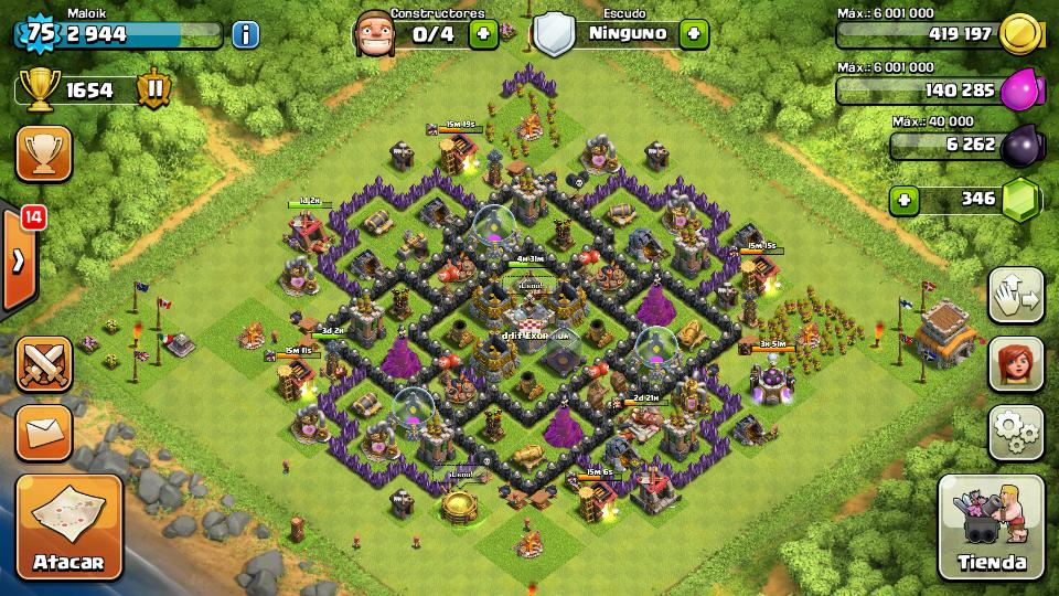 TH 8 Farming Base